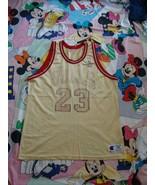 Vintage Chicago Bulls Michael Jordan Gold NBA Champion Jersey 48 - $148.49
