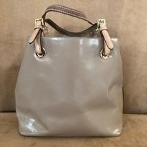 Michael Kors tan satchel leather womens purse brown shoulder bag - $64.50