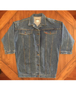 Vintage Women's Denim Trucker Jean Jacket Size Medium - $19.34