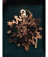Snowflake Ornaments by Tamerlane set of 3 - $13.50