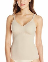 Rhonda Shear Everyday Molded Cup Camisole in Nude, 1X - $13.85