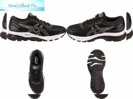 ASICS Women's Gel-Nimbus 21 Running Shoes 6.5, Black/Dark Grey - $113.22