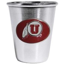 NCAA - Utah Utes Steel Shot Glass  - $24.99