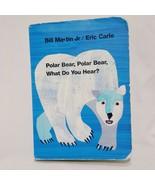 Polar Bear Polar Bear What Do You Hear Board Book Toddler Bill Martin Jr... - $9.99