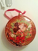 Disney World Mickeys Very Merry Christmas Party Glass Ornament, NEW - $18.00