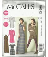 McCall's Plus Size Pattern-Easy Knit Plus-Women's Dress in Sizes 18W-20W... - $5.86