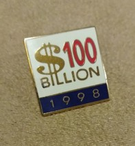 Vintage Lotto $100 Billion 1998 Promotional Pin Back - $20.00