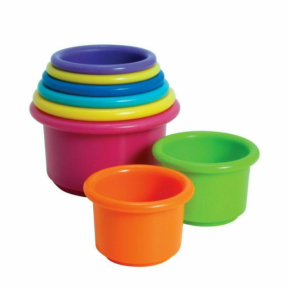 Primary image for Stack Up Cups Toy Learn Baby Infant Toddler Kids Developmental Educational Play