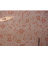Nicole Miller Home Pink Floral Vines Cotton Sheet Set Twin - $46.00