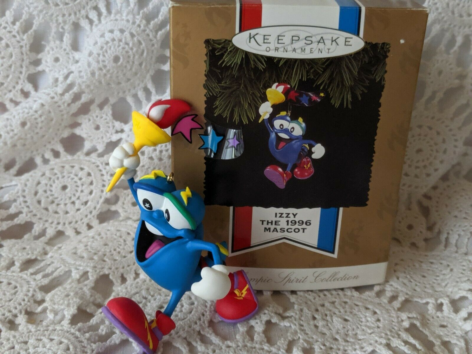 Primary image for Izzy Hallmark Keepsake Ornament 1996 Olympic Mascot Spirit Collection Christmas