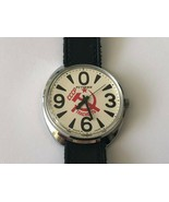 Vintage Rare USSR Raketa PETERHOF Zero 0 Glasnost Mechanical Wristwatch - $67.22