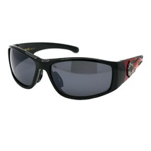 Choppers Sunglasses Mens Biker Fashion Flame Design Wrap Around UV 400 - $10.95