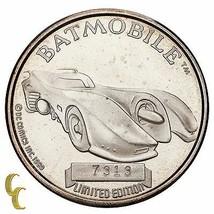 Batman Édition Limitée 1 OZ Argent Rond 50th Anniversaire The Batmobile - $113.96