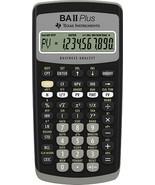 Texas Instruments - BA-II Plus - Financial Calculator - $49.45