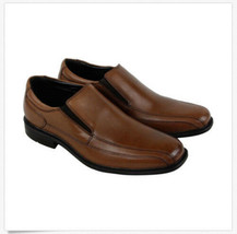 Kenneth Cole Mens Black or Brown Leather Zapato Slip-On Loafer Shoes New in Box image 2
