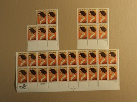 USPS Scott 2146 22c 1985 Abigail Adams Lot Of 3 Plate Block 31 Stamps Mi... - $13.21