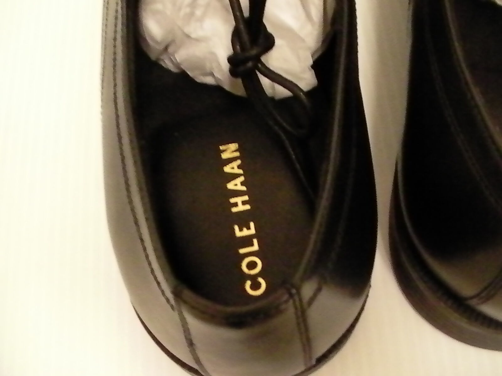 Cole HAAN Dressing Zapatos Dustin Gorra Oxford II Talla 11.5 Hombre EEUU