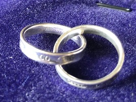 100% AUTH Tiffany & Co. Interlocking Circles Ladies Ring 925 Sterling Silver image 4
