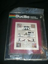 "Bucilla 1985 ""Sunshine & Shadow"" Counted Cross Stitch Kit #49901 New Sealed - $19.99"