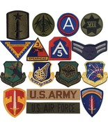 Military Army Air Force Assortment Iron on Sew Patches (50 Patches) - $34.99