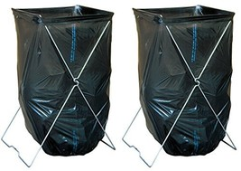 Midwest Gloves & Gear Bag Caddy - Portable Bag Stand for 33 to 39 Gallon... - $1.020,82 MXN