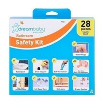28pc Bathroom Safety Value Pack Door Stopper Thermometer Locks Catches A... - $63.75