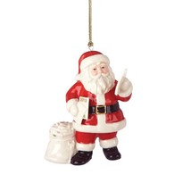 Lenox 2013 Santa Figurine Ornament Annual Claus Letters Mail Christmas NEW - $69.30