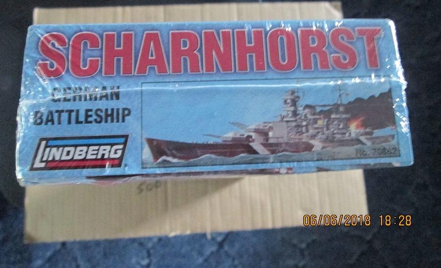 Lindberg Scharnhorst German Battleship 1/762 scale