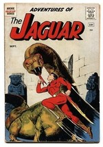 Adventures of the Jaguar #1 1961- Archie comics- First issue VG- - $63.05