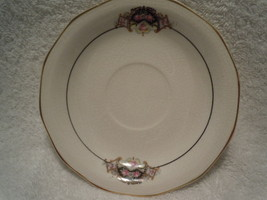 Vintage Salem China Saucer Art Deco Design - $3.99