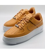 """NEW Nike Air Force 1 Sage Low """"Cooper Moon"""" AR5339-800 Women's Size 8.5 - $138.59"""