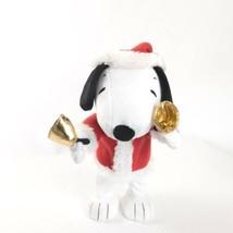 "Hallmark Peanuts 14 "" Snoopy Natale Bell Ringer (2010) - $31.17"