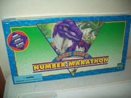 Count Dino's number marathon dinosaur board game 1993 Discovery toys Com... - $132,05 MXN