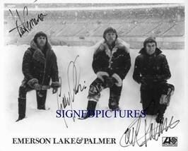 Emerson Lake And Palmer Signed Autographed Autograph 8X10 Rp Promo Photo Greg - $17.99