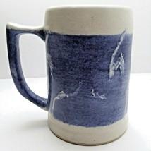 Vintage Stoneware Mug Salt Glaze - $52.75