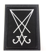 IPhone XS Max Sigil Of Lucifer Patched Case Cover   - $14.00