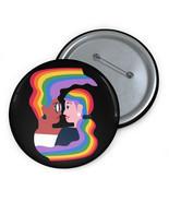 Lesbian Pin, LGBT Button, Queer Button, Pride Pin, Lesbian Button, Gay P... - £3.80 GBP