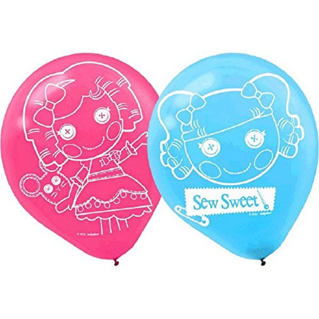 Primary image for Lalaloopsy Adventure Rag Doll Nick Jr Birthday Party Decoration Latex Balloons