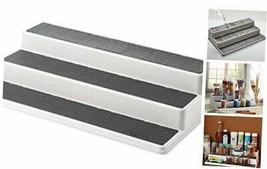 2555-0188 Non-Skid 3-Tier Spice Pantry Kitchen Cabinet Organizer, 15-Inc... - $14.73