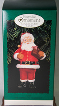 Hallmark Keepsake of Membership Ornament 1996 Santa Collector's Club NIB - $6.50