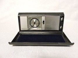 Admiral Model PCR231 Traveling Alarm Clock Radio with Kickstand   FOR PARTS - $35.00