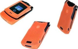 ORIGINAL Motorola V3i RAZR Orange 100% UNLOCKED 2G Cellular Phone WARRAN... - $193.00