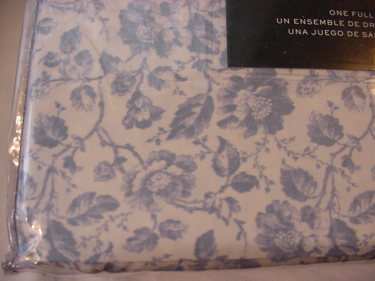 Ralph Lauren Dusty Blur Country Cottage Floral Sheet Set Full