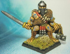 Dungeons & Dragons Miniature Barbarian Warrior Chief !! s89 - $27.00