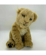 "WowWee 12"" Sitting Leopard Lion Cub Jungle Cat Animatronic Plush with Sound - $26.68"