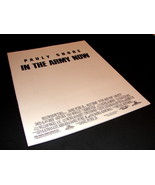 1994 Movie IN THE ARMY NOW Press Kit Production Notes Pauly Shore - $14.99