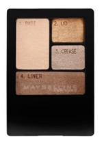 Maybelline Expertwear Eye Shadow Quad Chai Latte New & Sealed - $3.00