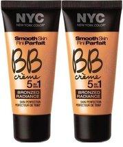 NYC Smooth Skin BB Crme Bronzed Radiance MEDIUM #5 (Set of 2) - $29.99