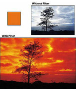 Cokin 002 A002 Orange Filter A Series for Black & White Photos Used Bin ... - $8.56