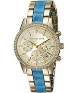 Michael Kors Women's Ritz Gold-Tone Watch MK6328 - £68.72 GBP